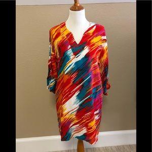 Natori dress / caftan / pool coverup